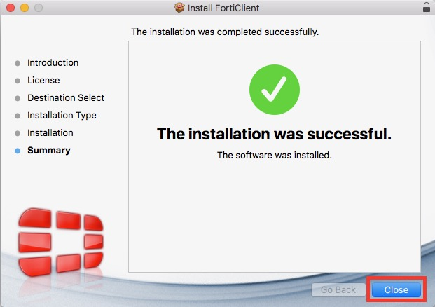 How to Install & Launch the Fortinet VPN Client (Mac