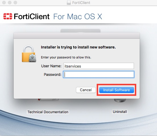 How to Install & Launch the Fortinet VPN Client (Mac) – Queens