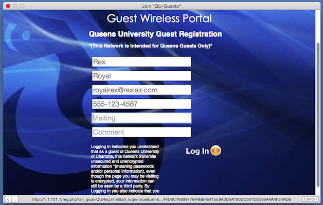 Connecting to QU-Guest WiFi Network – Queens University of Charlotte